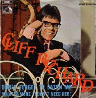Cliff Richard - Spain - Don't Forget To Catch Me/What's More (VSL 107)